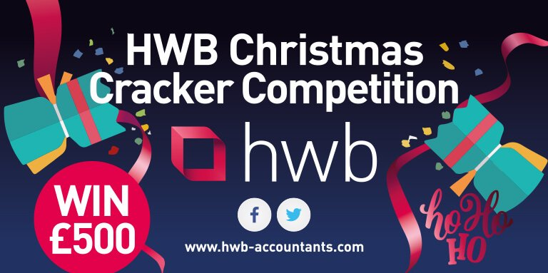 HWB Christmas Cracker Competition