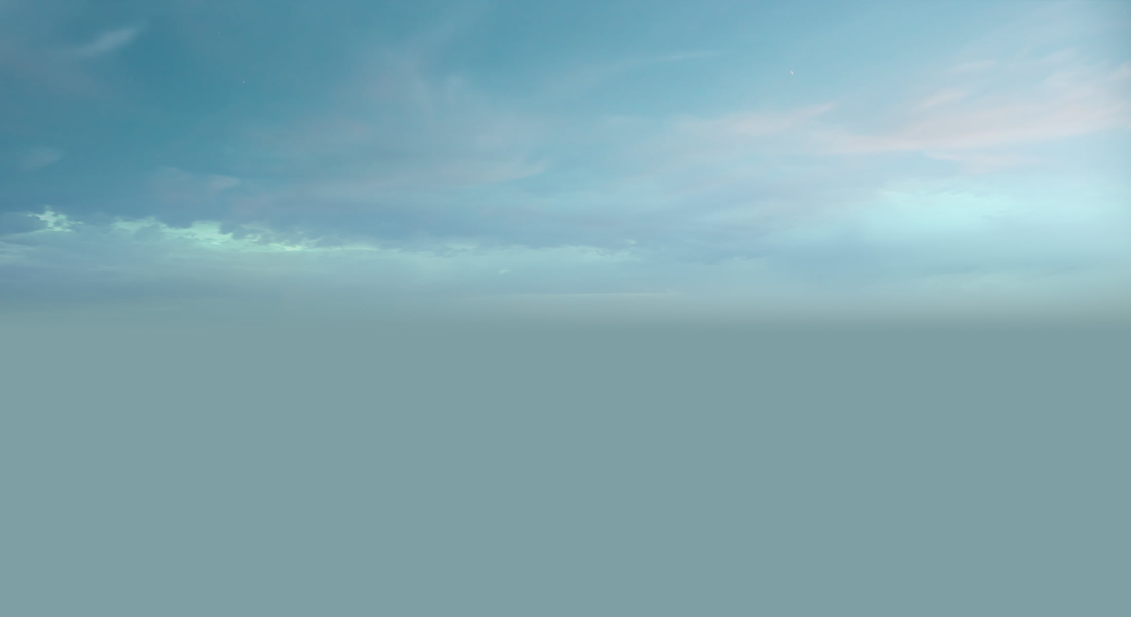 Docks sky